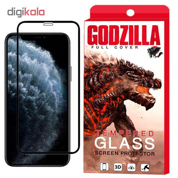 محافظ صفحه نمایش گودزیلا مدل GGF مناسب برای گوشی موبایل اپل iPhone 11 main 1 4