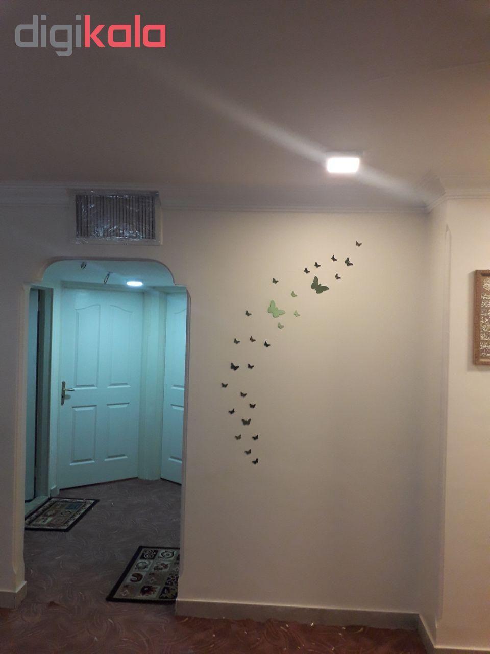 استیکر دیواری پدیده شاپ طرح پروانه مجموعه 24 عددی main 1 7