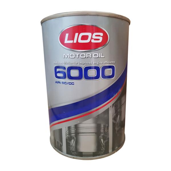 روغن موتور خودرو لیوس مدل F6000 حجم 1000 میلی لیتر