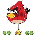 ساعت دیواری کودک ژیوار طرح Angry birds thumb