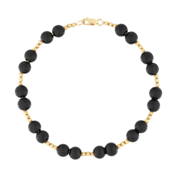دستبند طلا 18 عیار زنانه مدل D113
