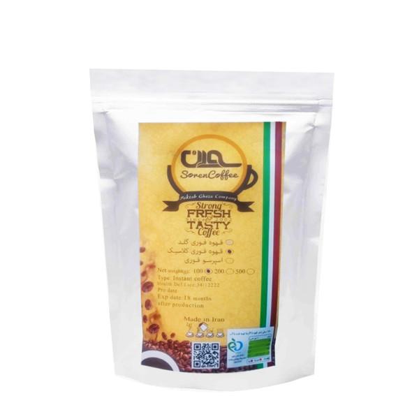 قهوه فوری کلاسیک سورن کد CL1-4354 مقدار 100 گرم