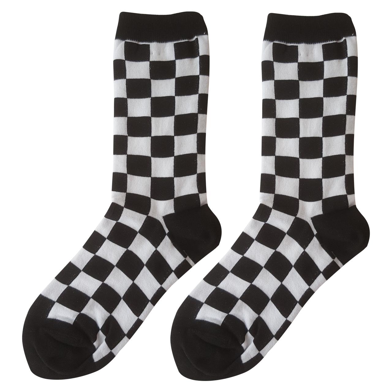 جوراب مردانه ال سون طرح شطرنج کد PH200
