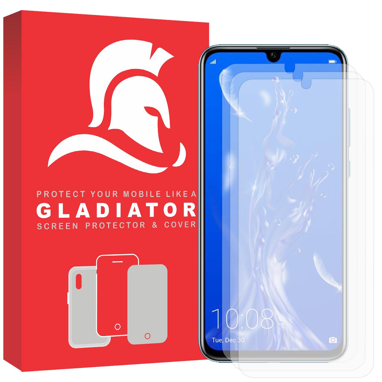 محافظ صفحه نمایش گلادیاتور مدل GLH3000 مناسب برای گوشی موبایل آنر 10 Lite بسته سه عددی