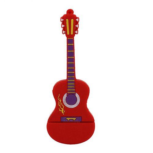 فلش مموری طرح گیتار آتشین مدل Ul-Pv-Gur01 ظرفیت16گیگابایت