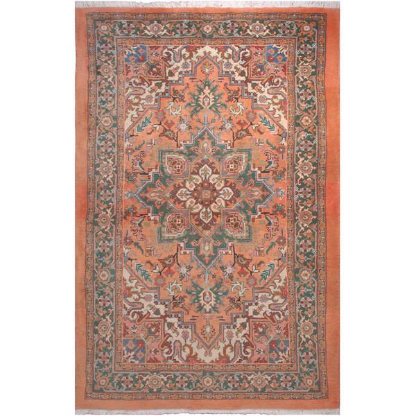 فرش دستبافت سه و نیم متری فرش هريس کد 101414