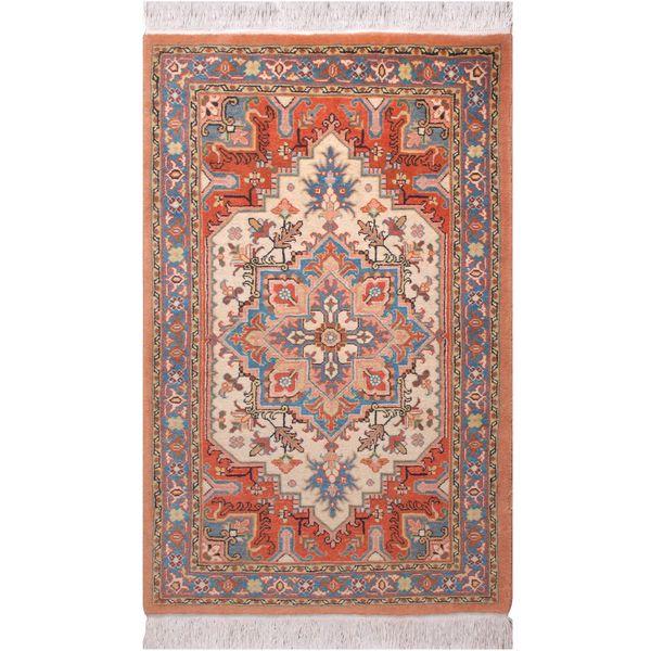 فرش دستبافت دو متری فرش هریس کد 101455