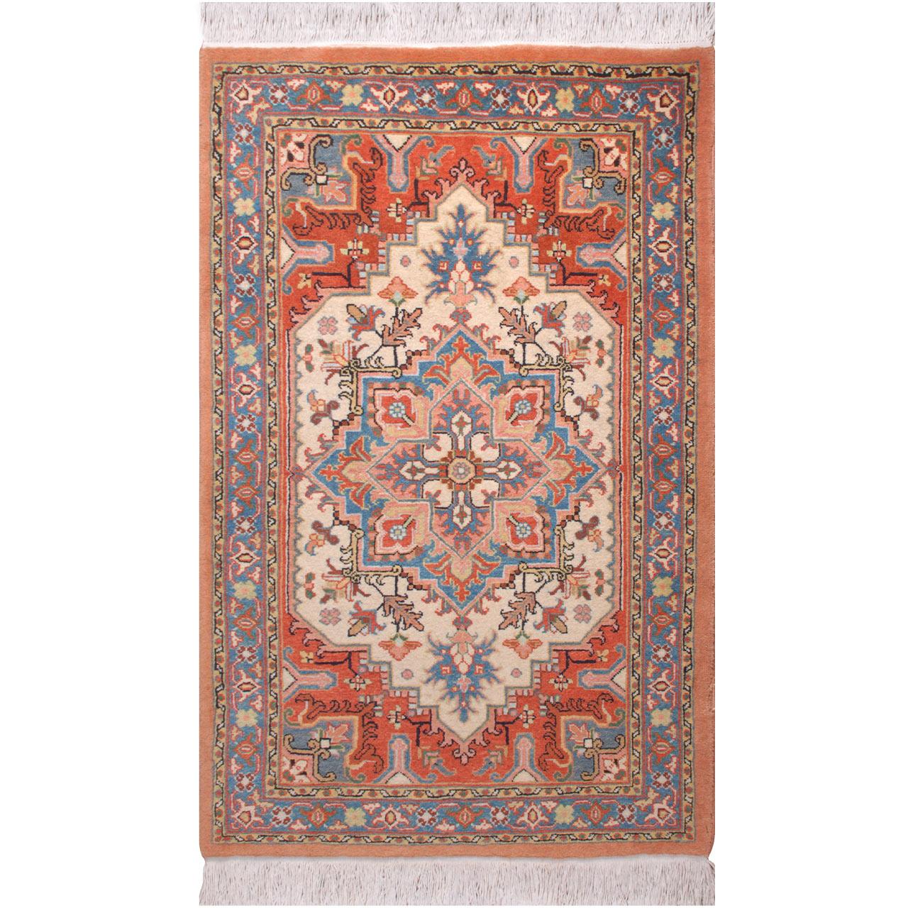 فرش دستبافت دو متری فرش هريس کد 101455