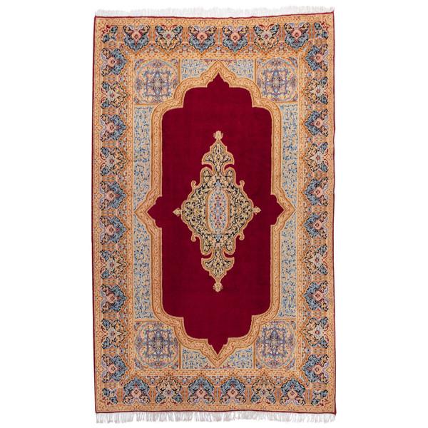 فرش دستباف قدیمی هفت متری سی پرشیا کد 141001 یک جفت