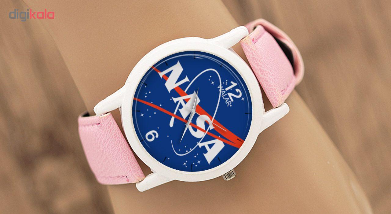 ساعت مچی عقربه ای زنانه والار طرح ناسا کد LF1717