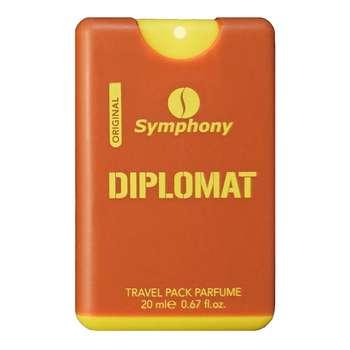 عطر جیبی مردانه سیمفونی مدل دیپلمات حجم 20 میلی لیتر