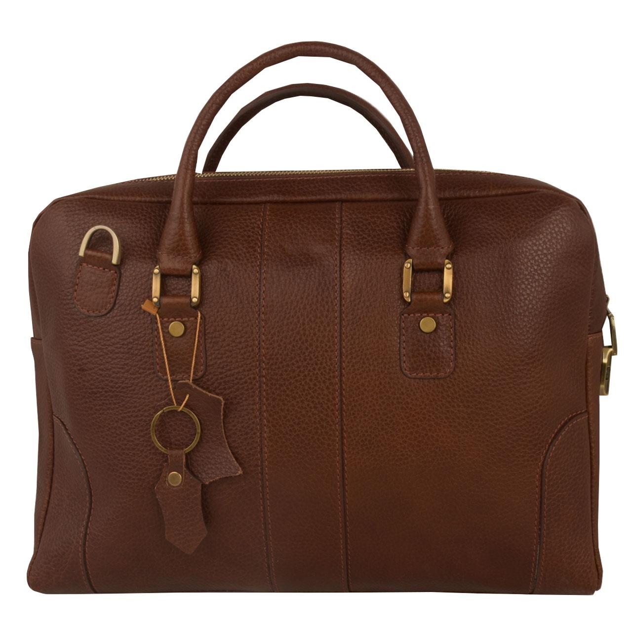 کیف اداری زنانه کهن چرم مدل L155-7