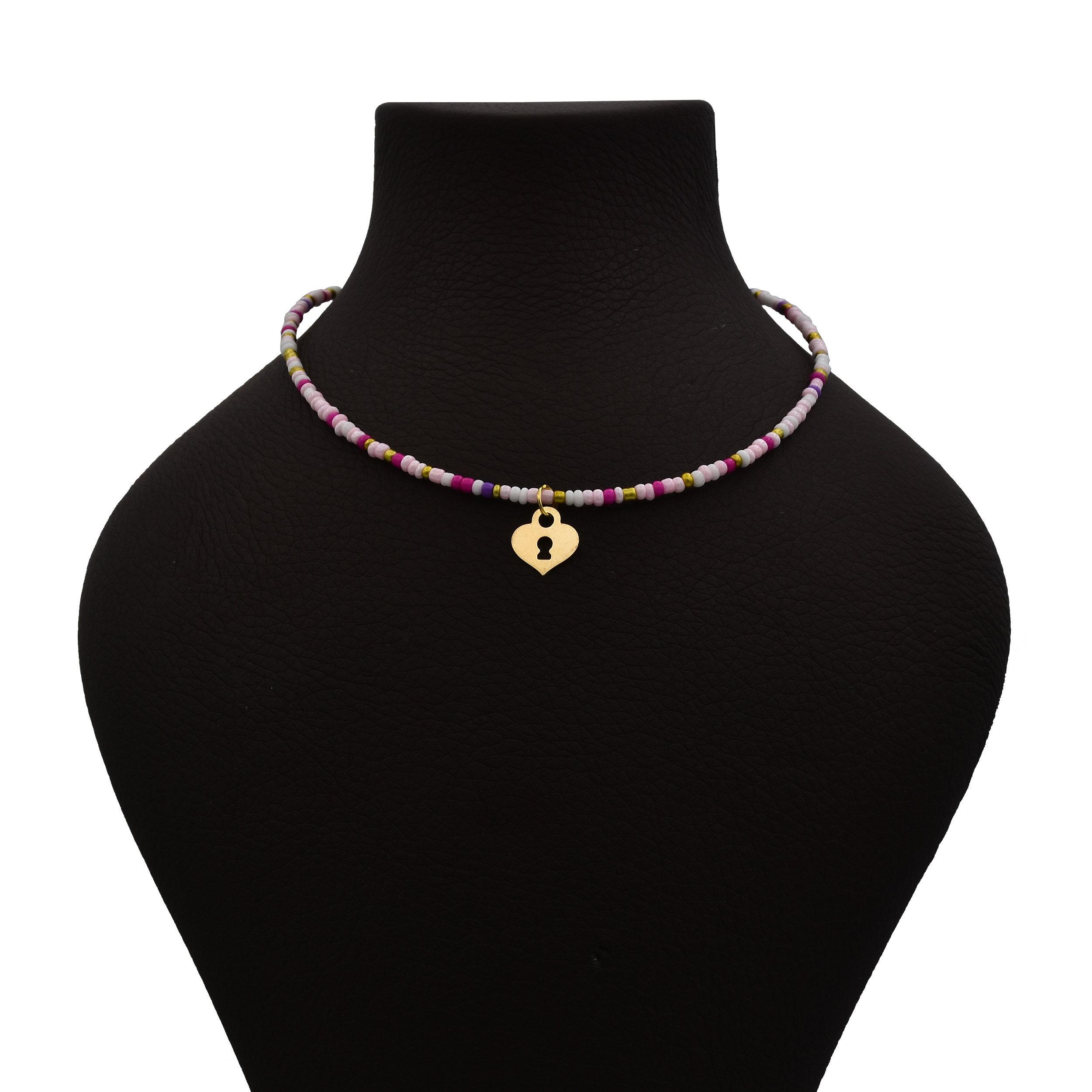 خرید                                      گردنبند نقره زنانه کد 529s2