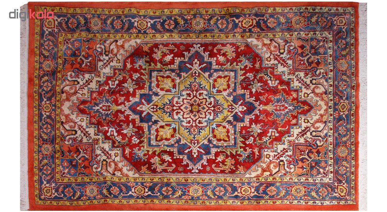 فرش دستبافت شش و نیم متری فرش هريس کد 101236