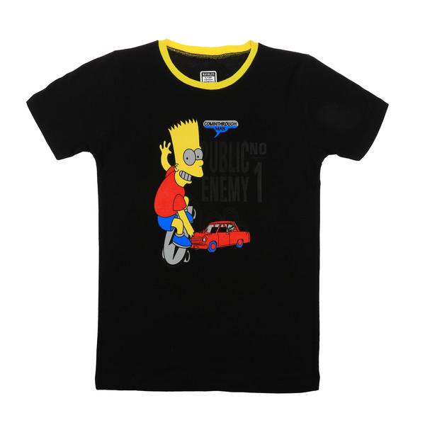 تی شرت ناوالس مدل Simpson-BK