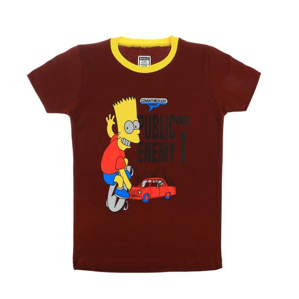 تی شرت ناوالس مدل Simpson-CR