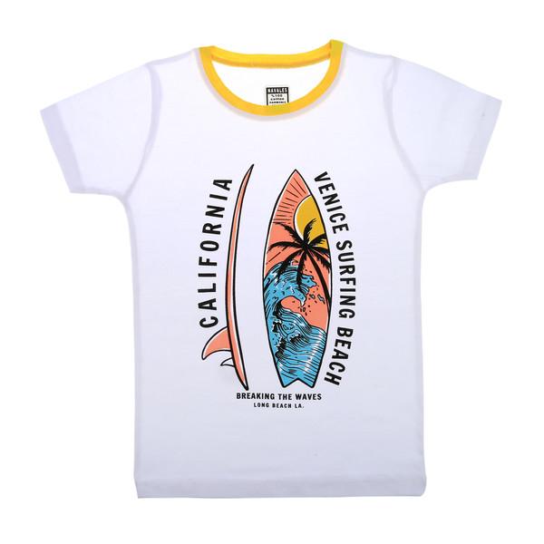 تی شرت ناوالس مدل Surf-WH