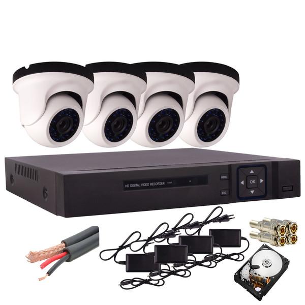 سیستم امنیتی آنالوگ مدل AH2-5004-901-4-HDD