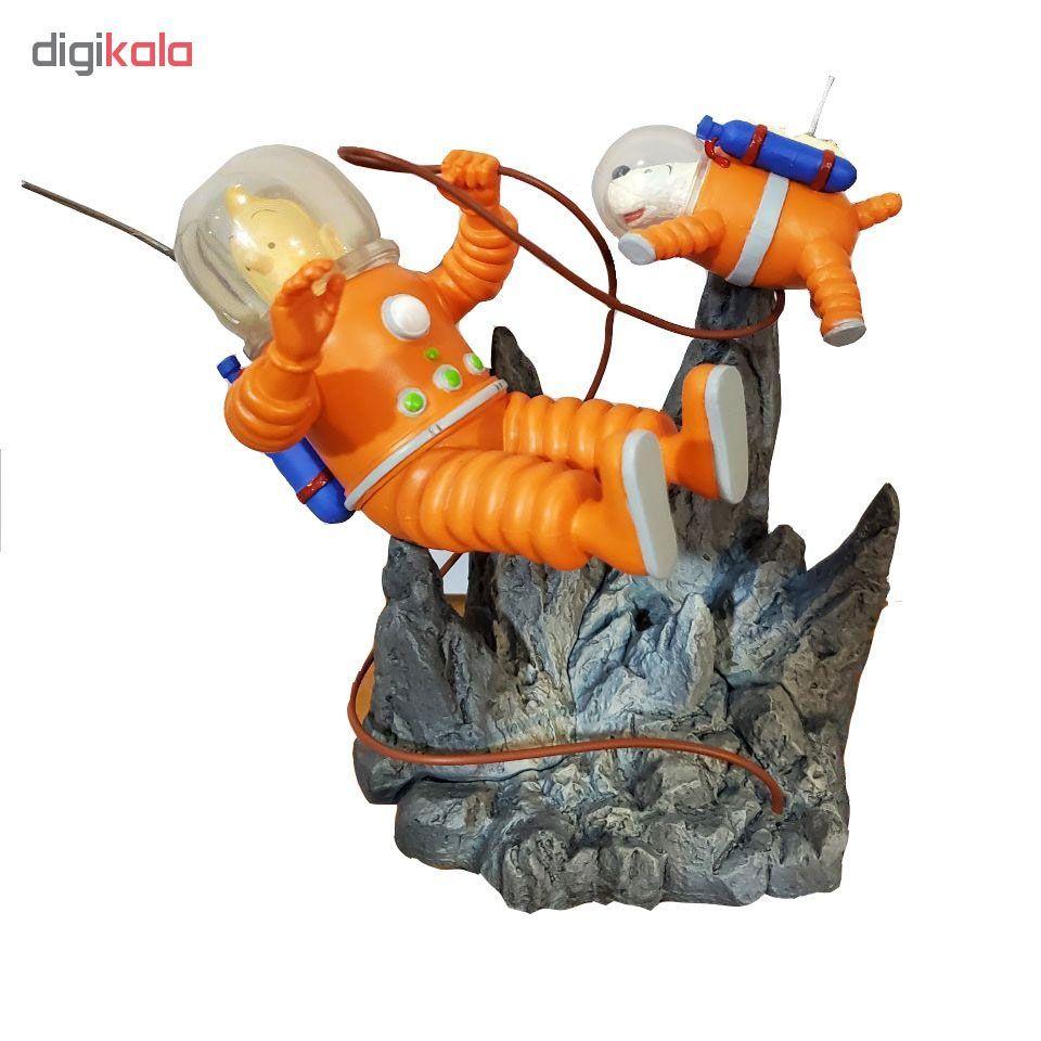 فیگور تین تین مدل Explorers on the Moon