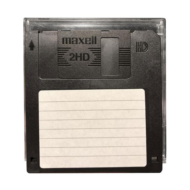 فلاپی دیسک قابدار مکسل مدل 2HD-1.44Mb بسته 10 عددی