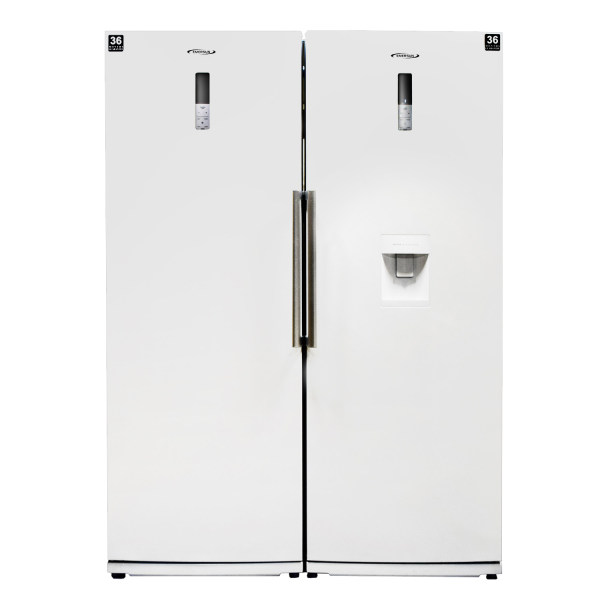یخچال و فریزر دو قلوی امرسان مدل دیاموند
