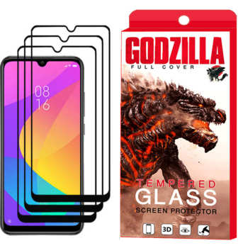 محافظ صفحه نمایش گودزیلا مدل GGF مناسب برای گوشی موبایل شیائومی Mi A3 بسته 3 عددی