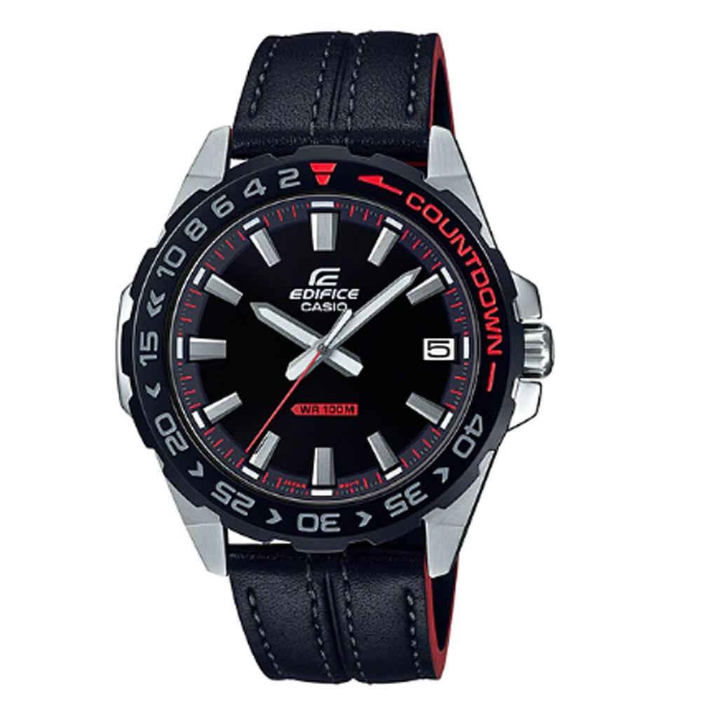 کد تخفیف                                      ساعت مچی عقربه ای مردانه کاسیو کد EFV-120BL-1A