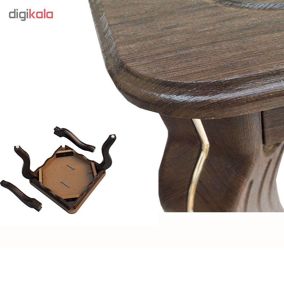 میز جلو مبلی و مجموعه سه عددی عسلی مدل وکیم ونیزw main 1 8
