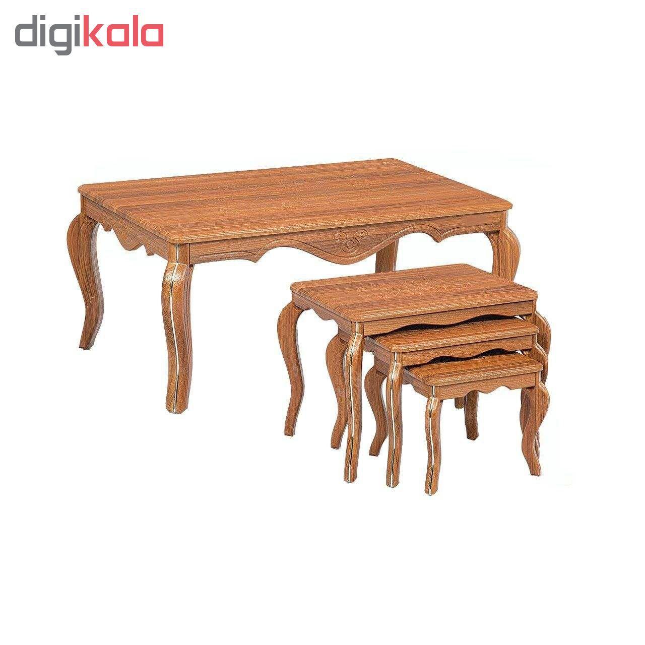 میز جلو مبلی و مجموعه سه عددی عسلی مدل وکیم ونیزw main 1 9