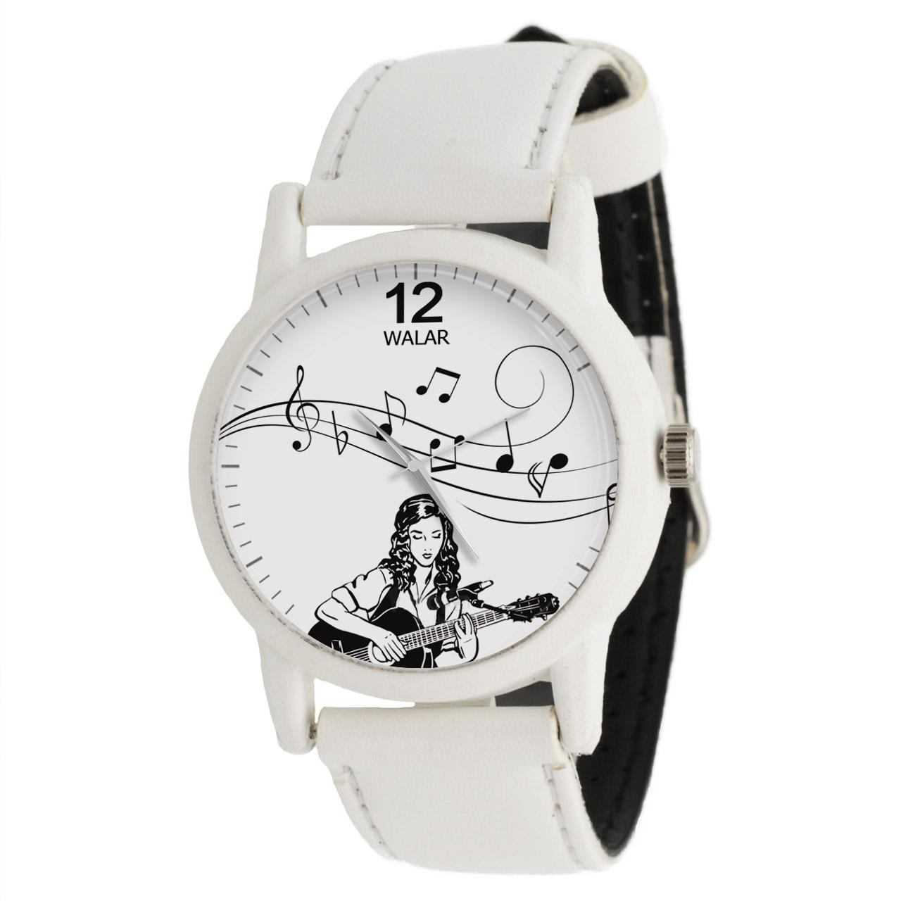 ساعت مچی عقربه ای زنانه والار طرح موسیقی کد LF1657