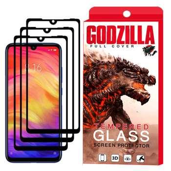 محافظ صفحه نمایش گودزیلا مدل GGF مناسب برای گوشی موبایل شیائومی Redmi 7 بسته 3 عددی