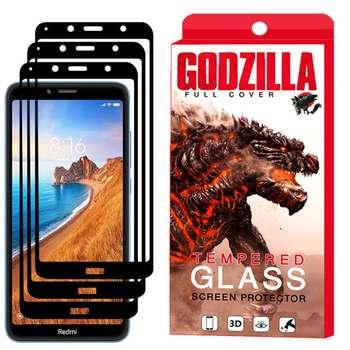 محافظ صفحه نمایش گودزیلا مدل GGF مناسب برای گوشی موبایل شیائومی Redmi 7A بسته 3 عددی