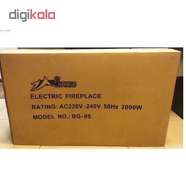 شومینه برقی لورنزا مدل DAMA05E