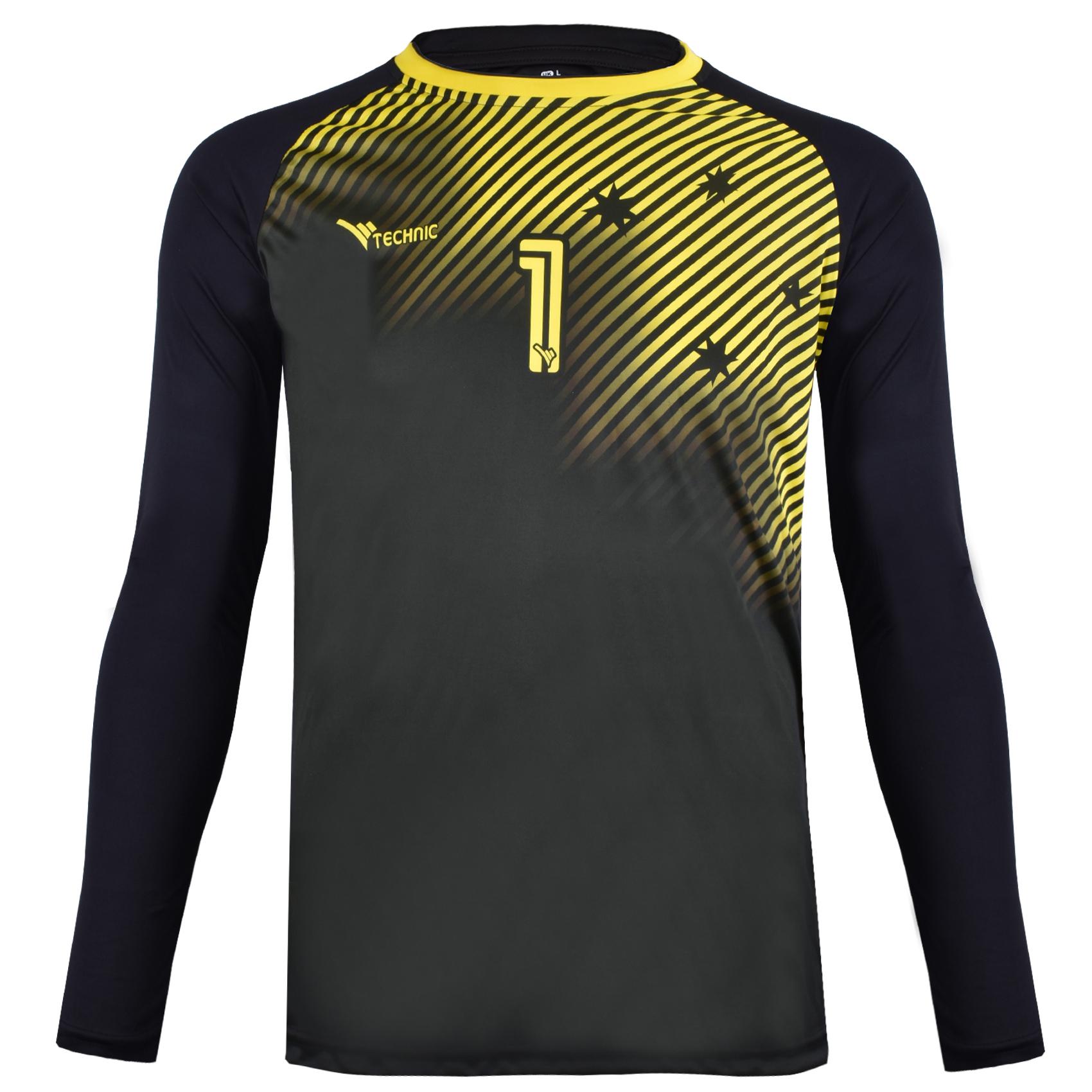 تی شرت ورزشی مردانه تکنیک اسپرت کد GO-110-ZA