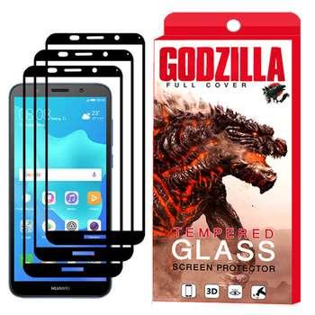 محافظ صفحه نمایش گودزیلا مدل GGF مناسب برای گوشی موبایل هوآوی Y5 2018 / Y5 Prime 2018 بسته 3 عددی