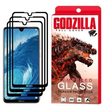 محافظ صفحه نمایش گودزیلا مدل GGF مناسب برای گوشی موبایل آنر 8X Max بسته 3 عددی