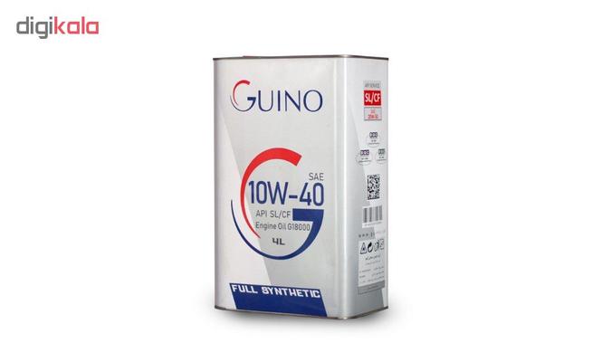 روغن موتور خودرو گینو مدل G18000 حجم 4000 میلی لیتر