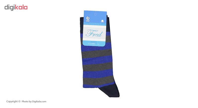 جوراب مردانه فرد مدل G.020 بسته 6 عددی