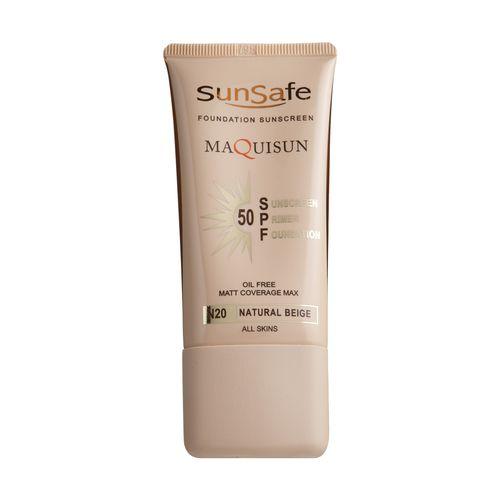 کرم ضد آفتاب رنگی سان سیف مدل N20 مقدار 40 گرم