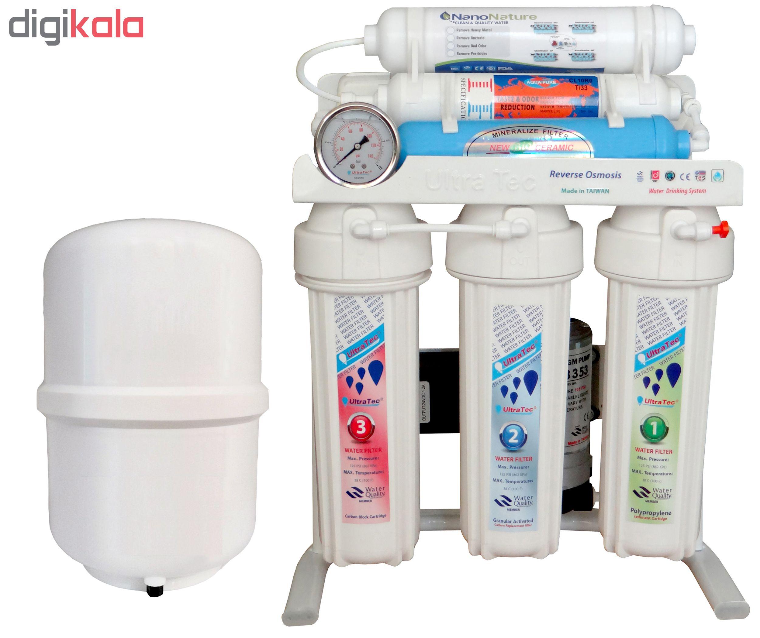 دستگاه تصفیه کننده آب اولترا تک مدل Water Softener -UT1200