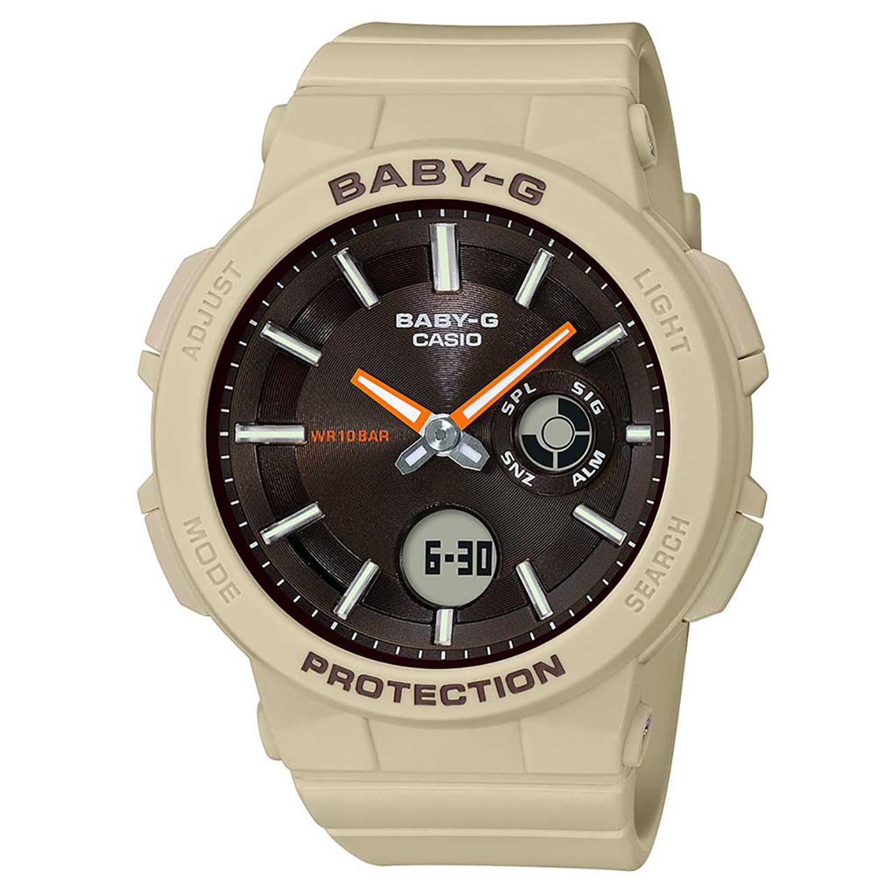 ساعت مچی عقربه ای زنانه کاسیو مدل بیبی جی کد BGA-255-5ADR
