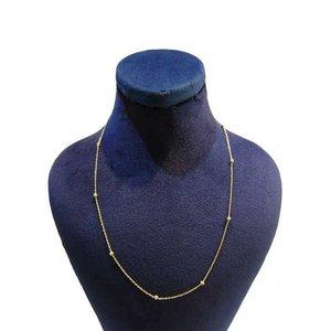 زنجیر طلا 18 عیار زنانه گالری مرجان کد 0910