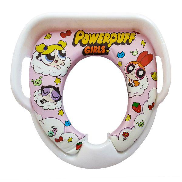 تبدیل توالت فرنگی کودک مام اند بیبی طرح پاورپاف گرلز مدل 601