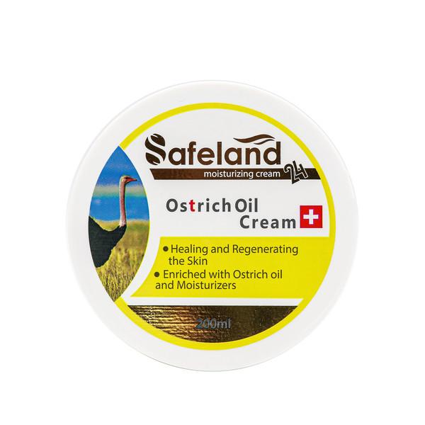 کرم مرطوب کننده سیفلند مدل Ostrich Oil حجم 200 میلی لیتر