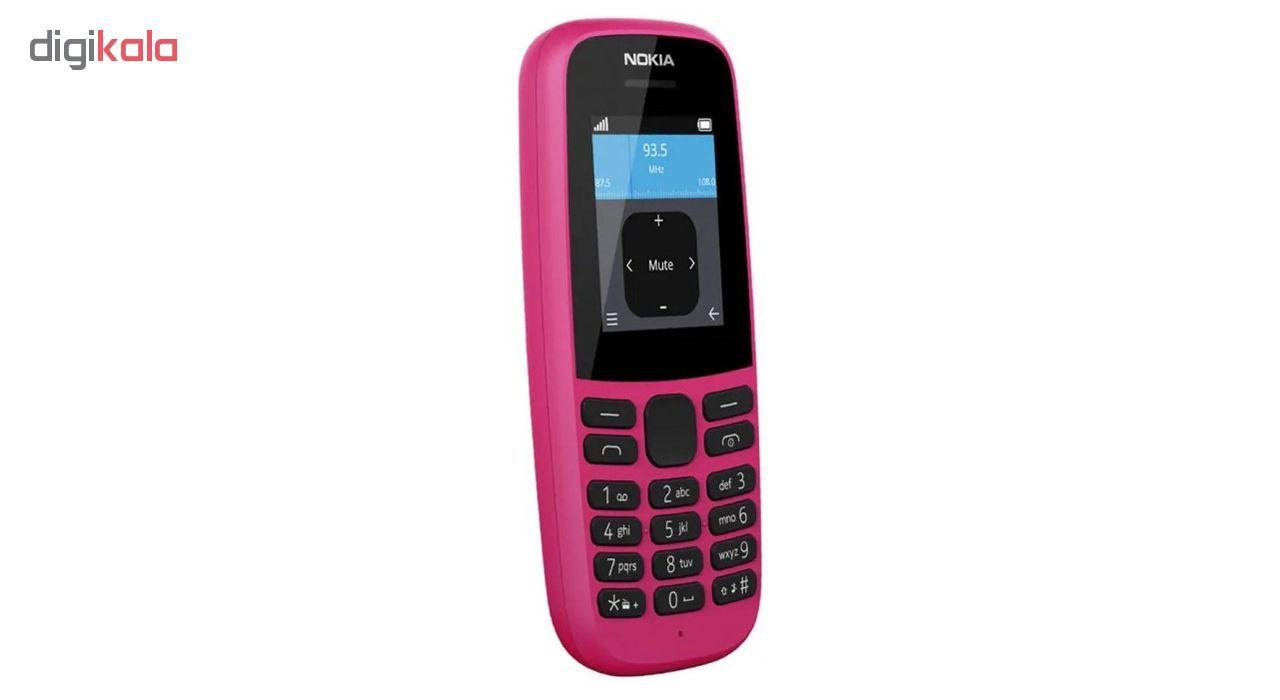 گوشی موبایل نوکیا مدل 105 - 2019 TA-1174 DS دو سیم کارت main 1 6