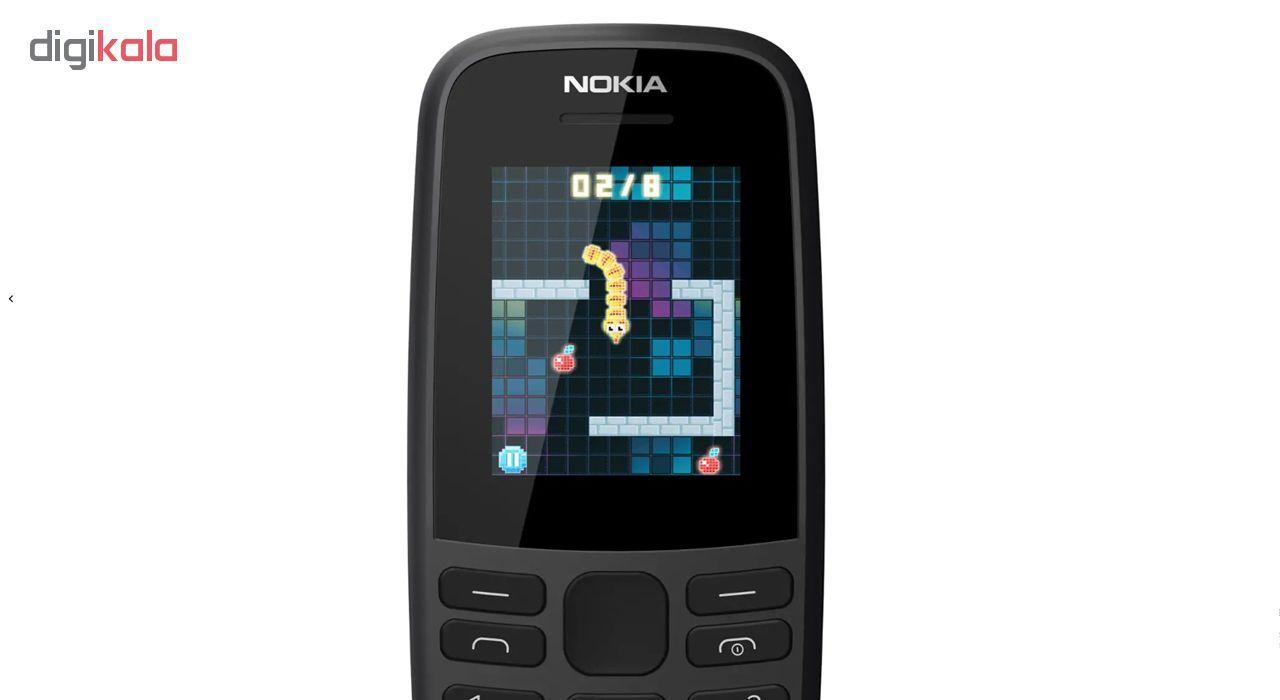 گوشی موبایل نوکیا مدل 105 - 2019 TA-1174 DS دو سیم کارت main 1 14