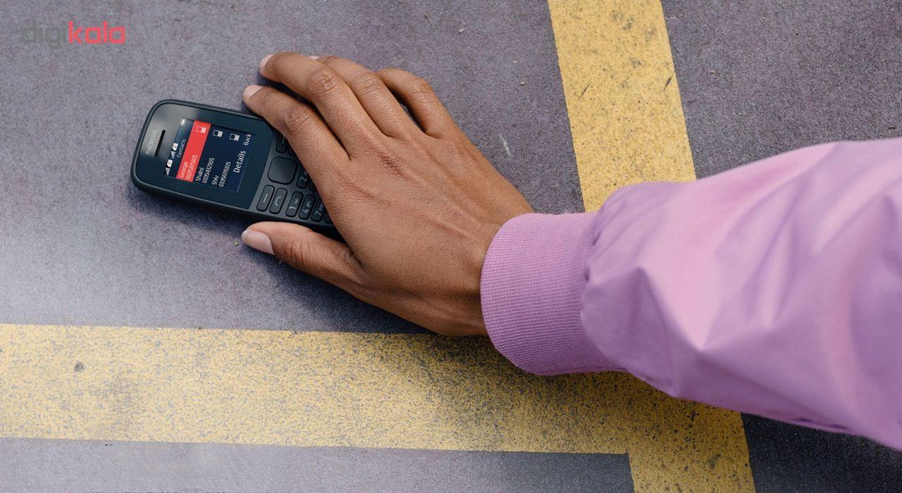گوشی موبایل نوکیا مدل 105 - 2019 TA-1174 DS دو سیم کارت main 1 16