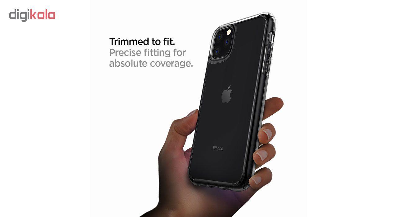 کاور اسپیگن مدل Crystal Hybrid مناسب برای گوشی موبایل اپل Iphone 11 Pro Max