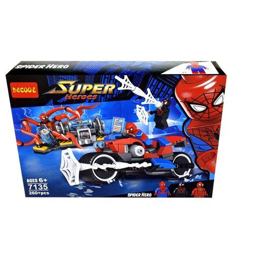 ساختنی دکول طرح مرد عنکبوتی کد t7135