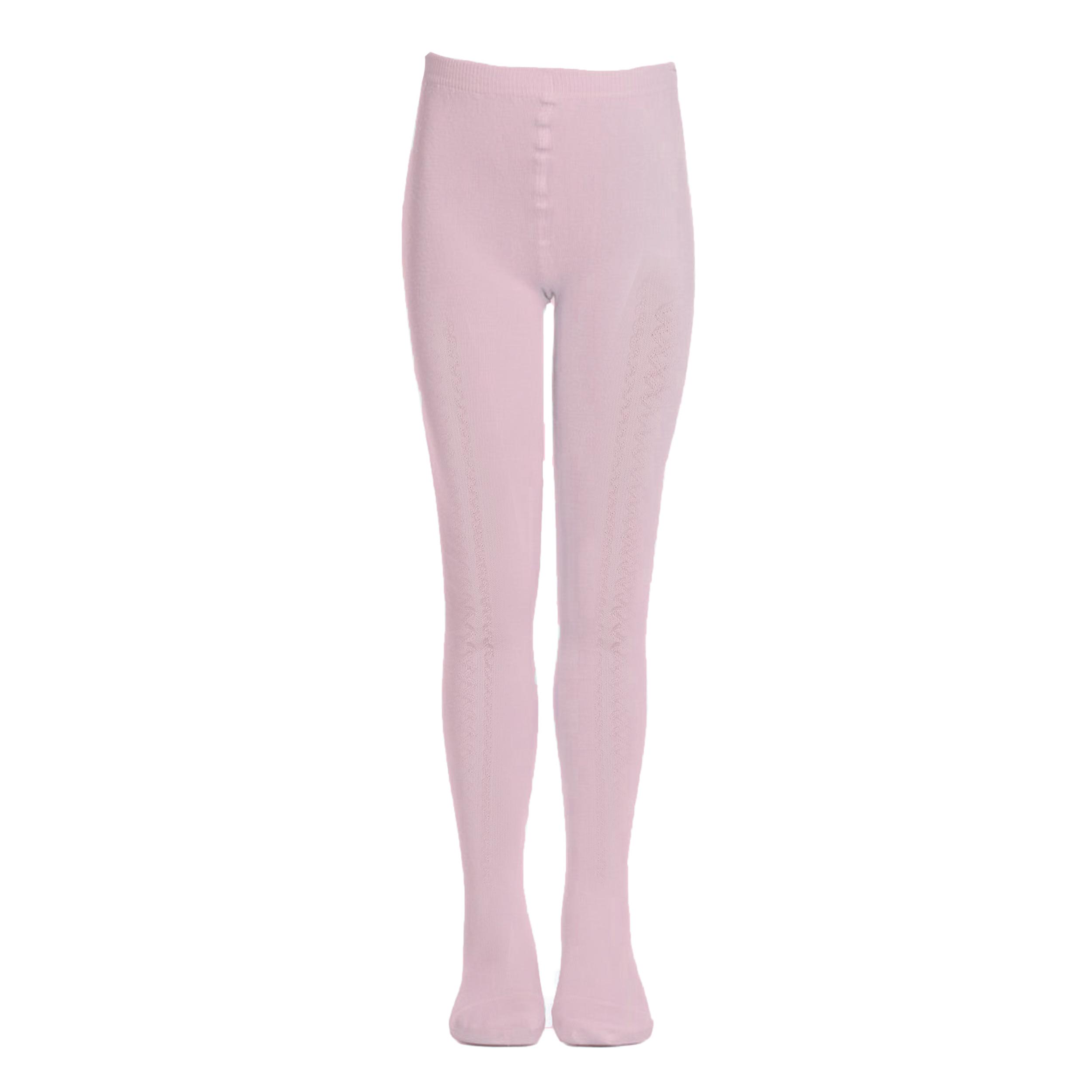 جوراب شلواری دخترانه درین طرح لوزی